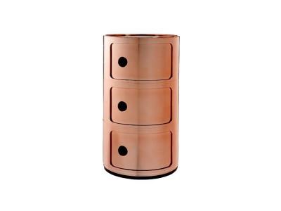 Kartell - Componibili Hirsla 3ja Hæða Copper
