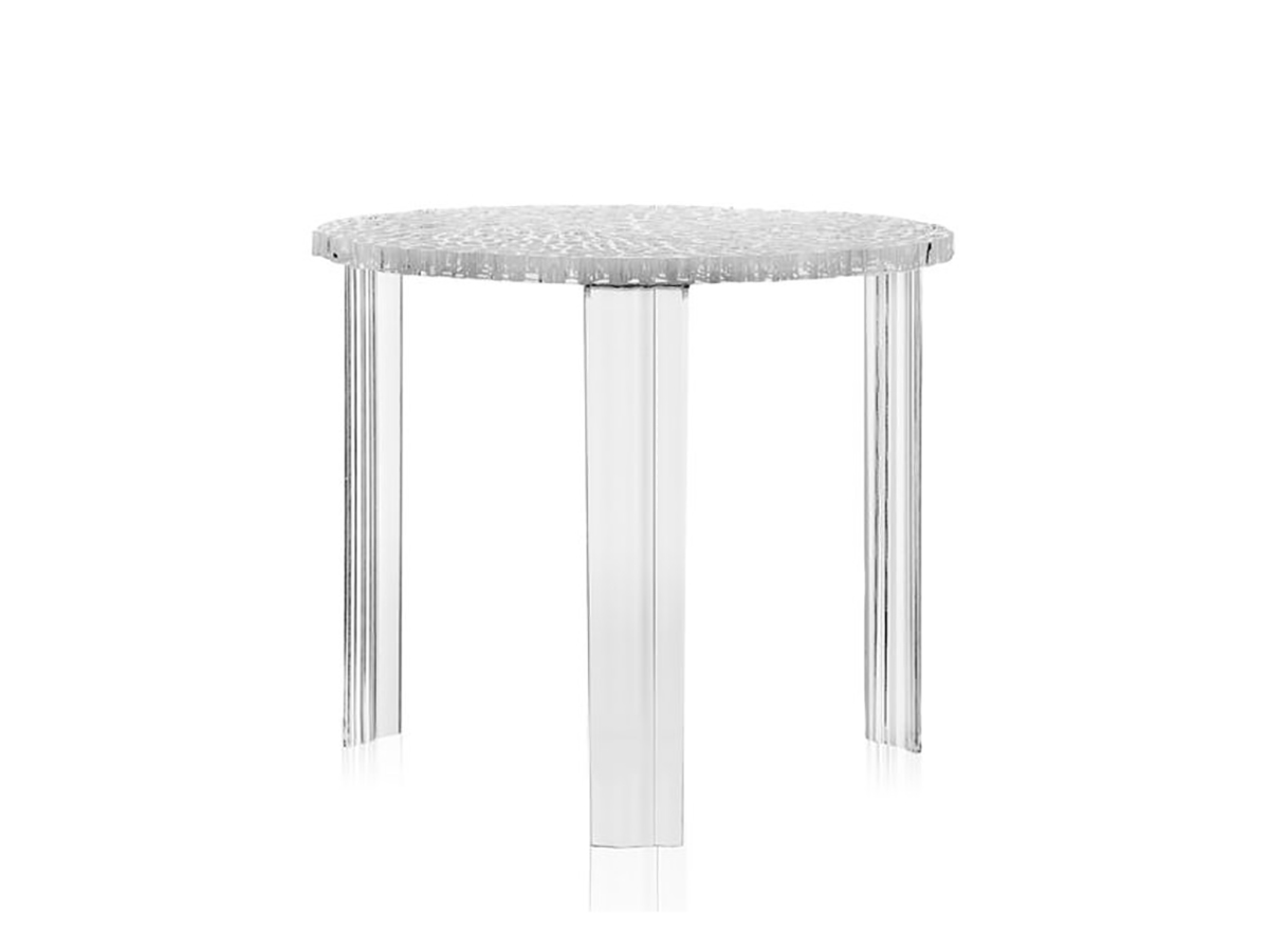 Kartell - T-table Stórt Crystal