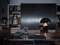 Oluce - Atollo Lampi 70cm Black image
