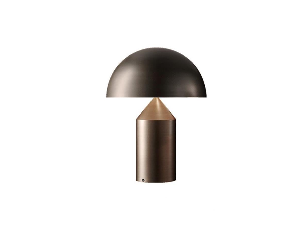 Oluce - Atollo Lampi 35cm Satin Bronze