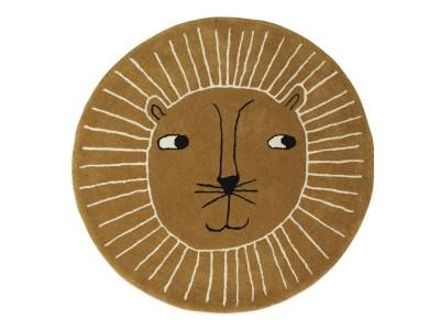 OYOY - Gólfmotta Lion Caramel