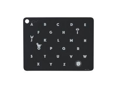 OYOY - Alphabet Diskamotta Anthracite