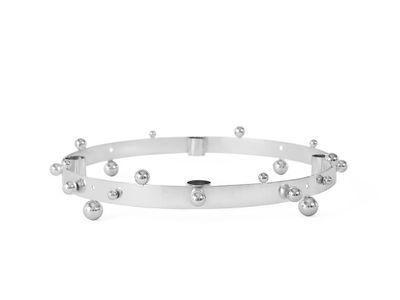 OYOY - Pearl Aðventukrans Silver