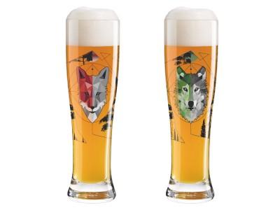 Ritzenhoff - Bjórglös 65cl Wolfster&Foxster 2stk
