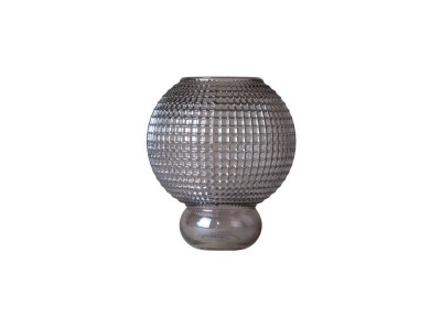 Specktrum - Savanna Round Vasi 20,5cm Smoke