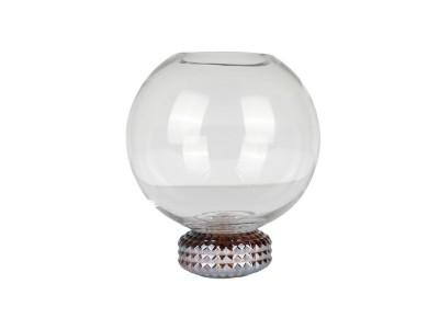 Specktrum - Spencer Vasi 20cm Clear/Bronze