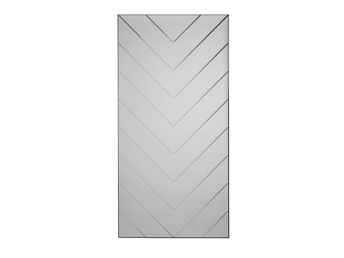 Specktrum - Herringbone Spegill Stór Grey