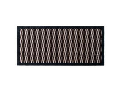 Tica - Dyramotta Dot 200x90cm Black/Sand