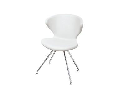 Tonon - Concept Stóll m/stálfótum White