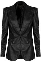 Tiffany pleður jakki