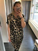 Fríða kjóll - leopard print