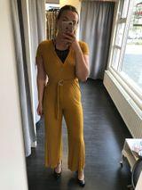 Hildur samfestingur - mustard