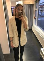 Agnes blazer beige