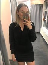 Emilía kjóll svartur