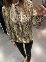 Stefani skyrta snake print