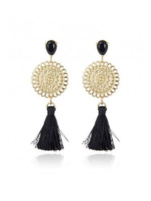 TASSEL BLACK/GOLD