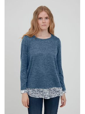 NITTED PULLOVER