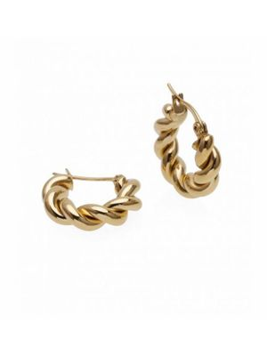 TWIST EARRING GOLD