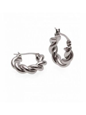 TWIST EARRING STEEL