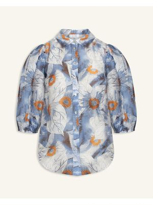 FLOWER BLUE TOPP