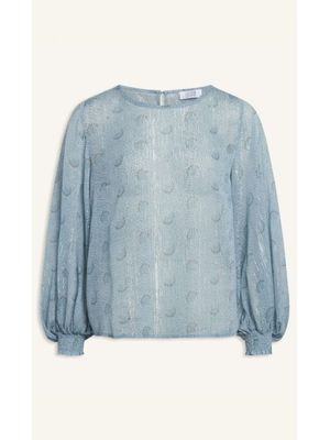BLUE CLOUD BLOUSE