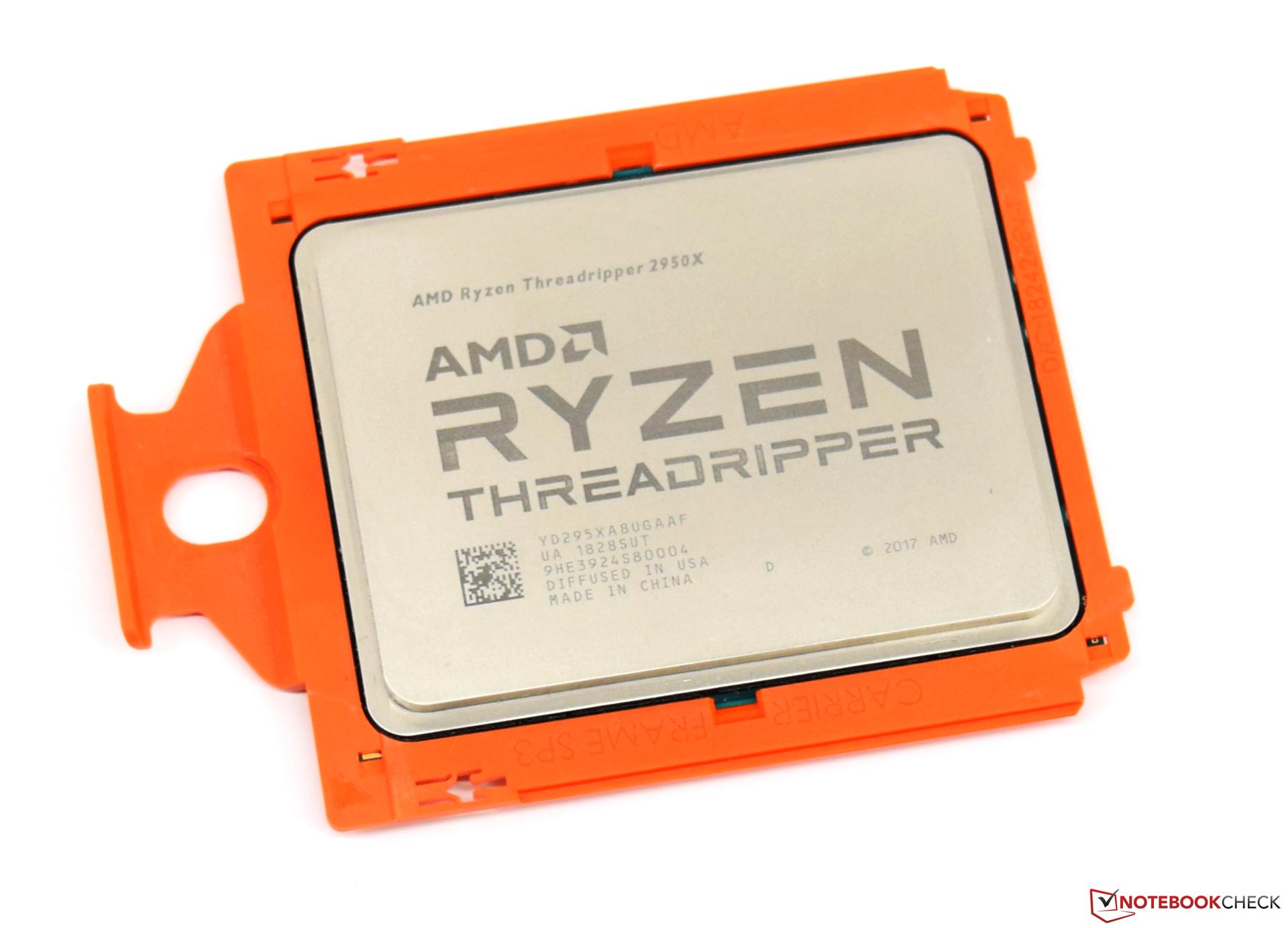 YD295XA8AFWOF AMD Ryzen Threadripper 2950X Processor
