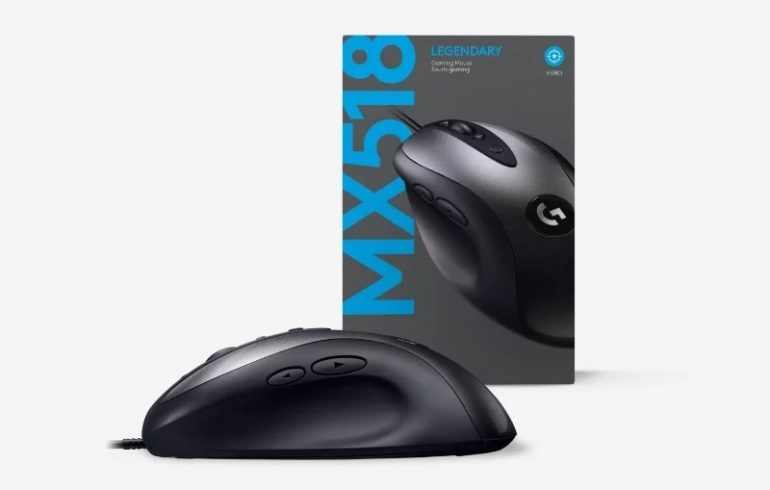 4ba8348aa61 Mús Logitech Gaming MX518 16000DPI Classic 2019 - Computer.is