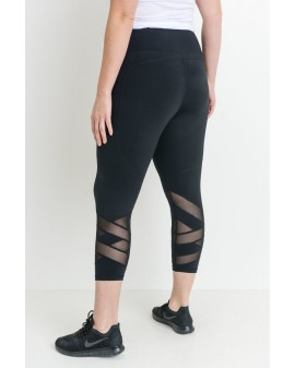 Mono Mesh panel leggings