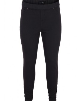 ZIZZI Galla-jeggings - Svartar