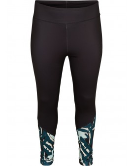 ZIZZI Active Green long leggings