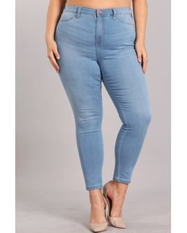 Celebrity Ultra high Jeans - BLUE WASH