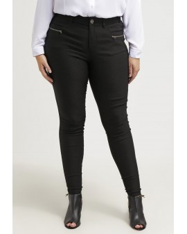 Zizzi Stretch Skinny Pants - SVARTAR