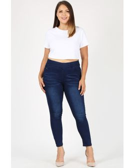 Sweet galla Jeggings - Dark blue