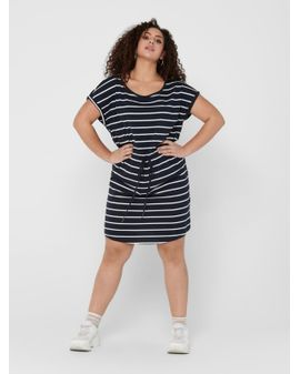 Carmakoma April dress - Stripe