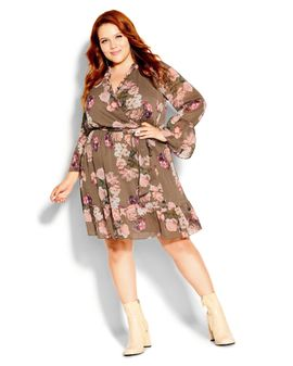 City AMORE floral dress - COCO
