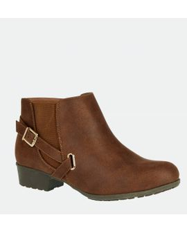 KASHA Booties - WIDE FIT