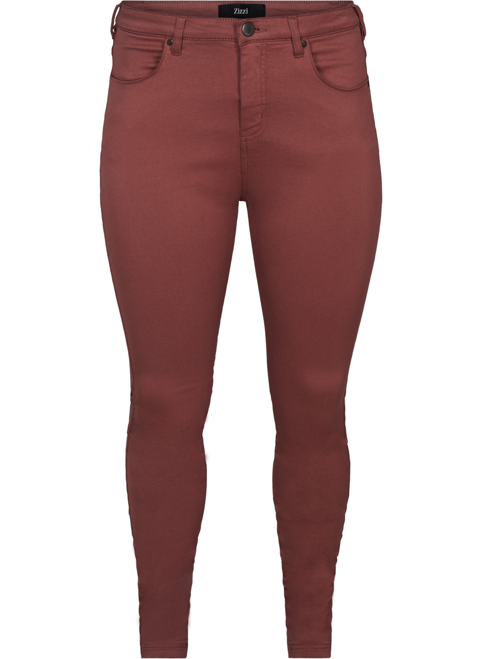 Amy Color Jeans - Wild Ginger
