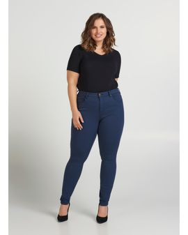 Zizzi Amy Long Color Jeans - Indigo Blue