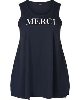 ZIZZI NAVY Merci Top
