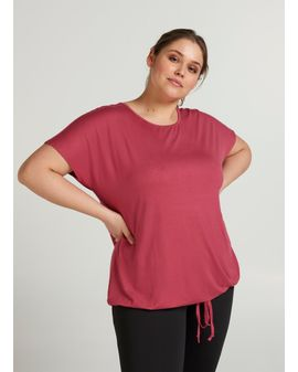 ZIZZI ACTIVE Maj top - RED