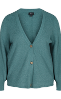 ZIZZI Ella Cardigan - Sea Green