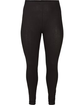 ZIZZI Viscose Leggings - Svartar
