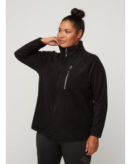 ZIZZI Active FLEECE Peysa