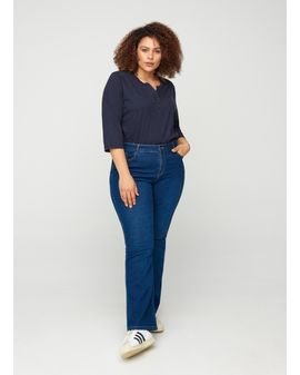 Ellen Long Bootcut blue denim