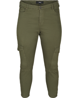 ZIZZI Army Green Ankle pants