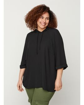 ZIZZI Vivan Hooded Siffon top