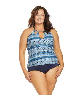 Raisin Curves Blue Tribal