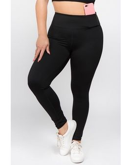 YEAH Active leggings - Spandex Svartar