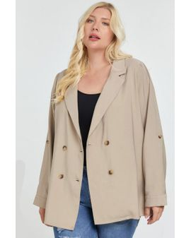 Dani Long Blazer - Natural