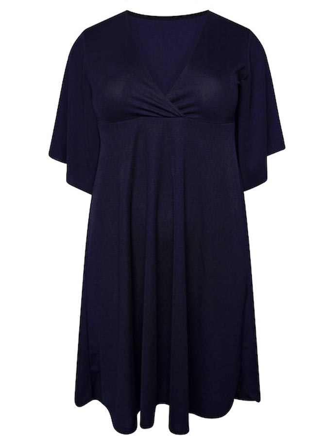 Innocent dress - Navy blár